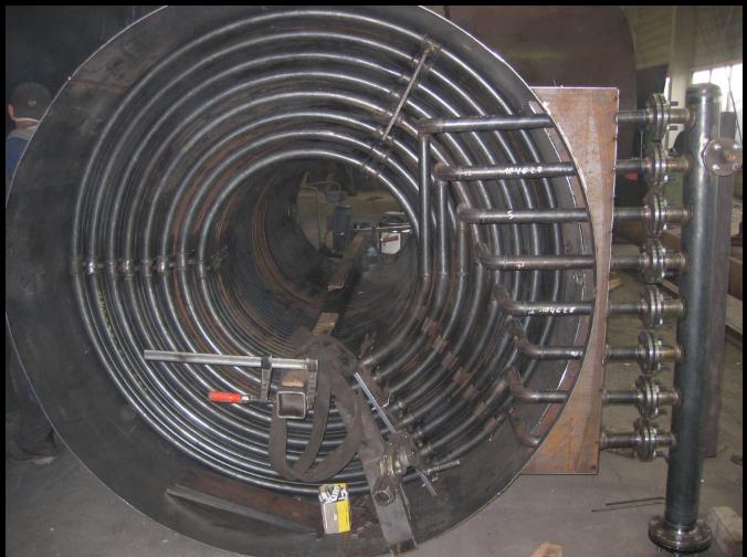 Memperbaiki Tabung Boiler